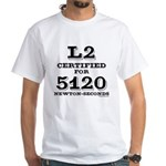 Certified HPR Level 2 White T-Shirt