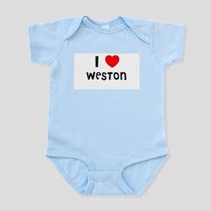 I LOVE WESTON Infant Creeper