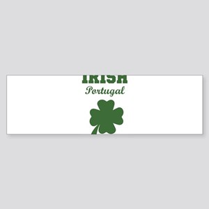Irish Portugal Bumper Sticker