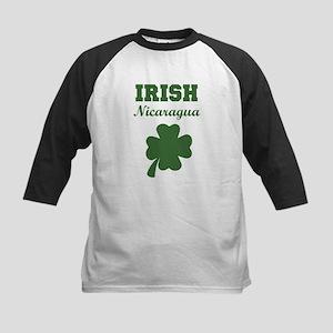 Irish Nicaragua Kids Baseball Jersey