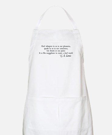 God Shouts in our Pain BBQ Apron