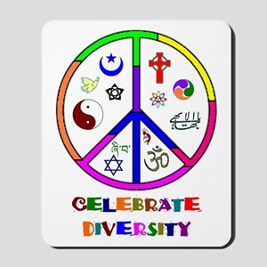 Celebrate Diversity Mousepad
