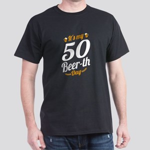 It's My 50 Beer th Day Birthday Milest T-Shirt