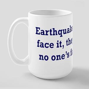Earthquake Large Mug