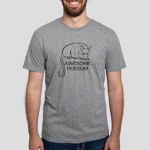 Awesome Possum Mens Tri-blend T-Shirt