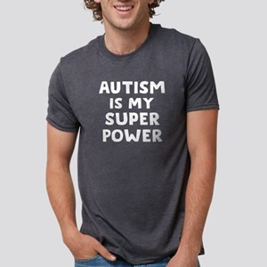 Autism Superpower Mens Tri-blend T-Shirt