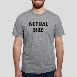 Actual Size Mens Tri-blend T-Shirt
