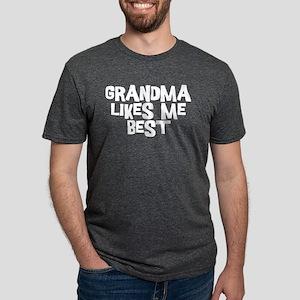 Grandma Likes Mens Tri-blend T-Shirt