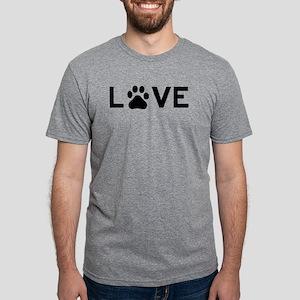 Love Paw Mens Tri-blend T-Shirt