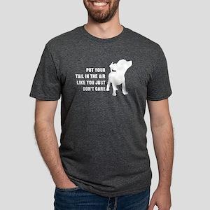 Put Tail Air Mens Tri-blend T-Shirt