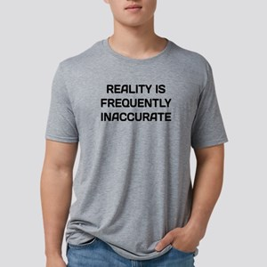 Reality Inaccurate Mens Tri-blend T-Shirt