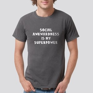 Social Awkward Mens Comfort Colors® Shirt