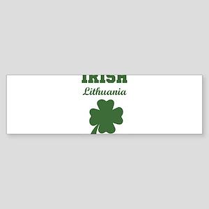 Irish Lithuania Bumper Sticker