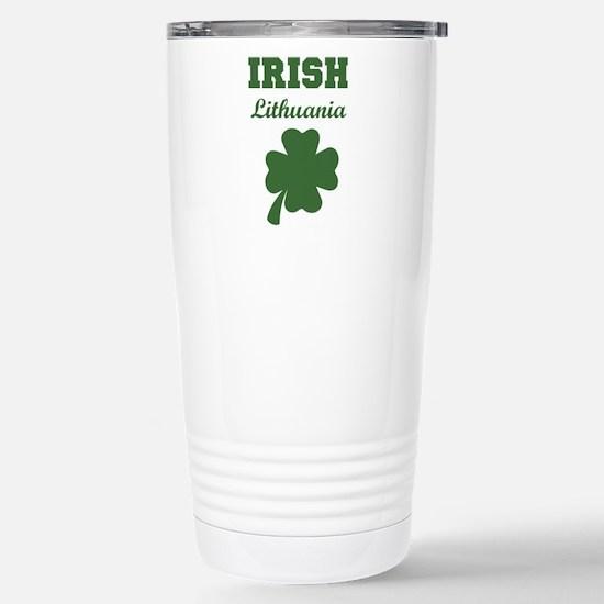 Irish Lithuania Stainless Steel Travel Mug
