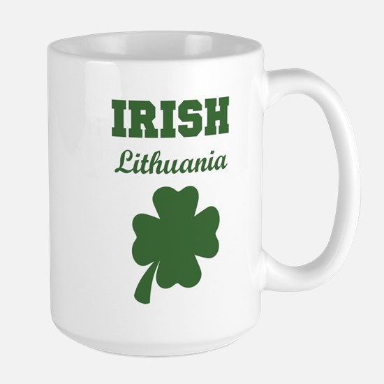 Irish Lithuania Large Mug