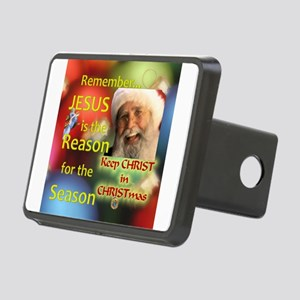 Keep Christ In Christmas Rectangular Hitch Cover