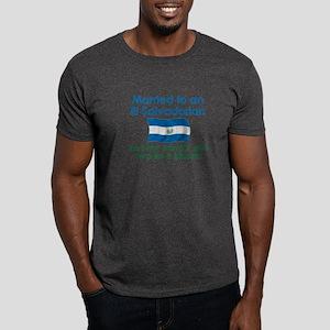 Married to an El Salvadorian Dark T-Shirt