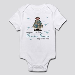 Someone I love Ovarian Cancer Infant Bodysuit