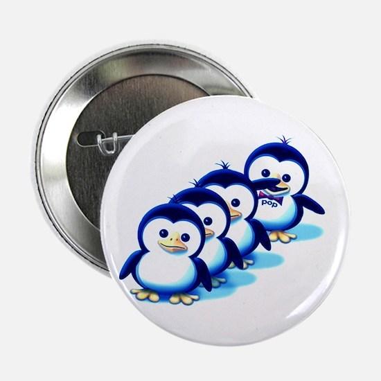 "Flock of Penguins 2 2.25"" Button"