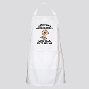 New Dad In Training BBQ Apron