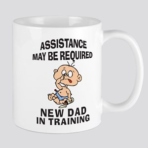 New Dad In Training Mug