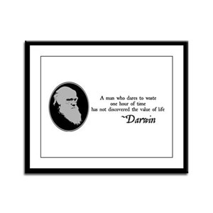The Value of Life Framed Panel Print