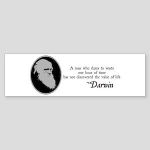 The Value of Life Bumper Sticker