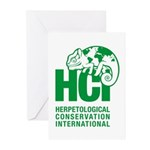 HCI LOGO Greeting Cards