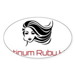 Platinum Ruby Hair Sticker