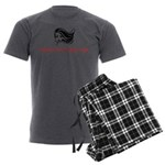 Platinum Ruby Hair Men's Charcoal Pajamas