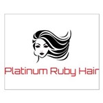 Platinum Ruby Hair Posters