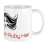 Platinum Ruby Hair Mugs