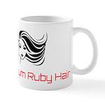 Platinum Ruby Hair Mugs