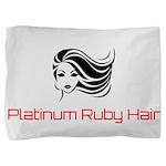 Platinum Ruby Hair Pillow Sham