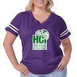 HCI LOGO Women's Plus Size Football T-Shirt
