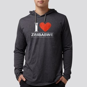 I Love Zimbabwe Long Sleeve T-Shirt