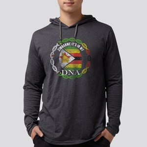 Zimbabwe Its In My DNA Long Sleeve T-Shirt