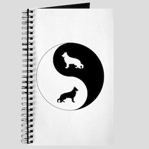 Yin Yang German Shepherd Journal