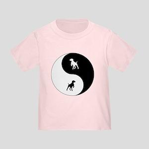 Yin Yang GSP Toddler T-Shirt