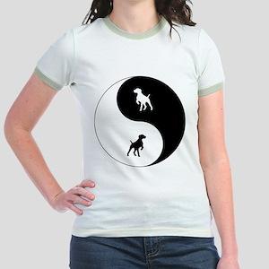 Yin Yang GSP Jr. Ringer T-Shirt