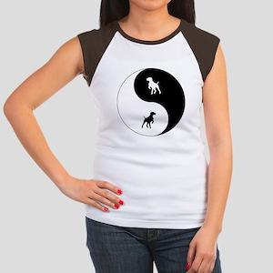 Yin Yang GSP Women's Cap Sleeve T-Shirt