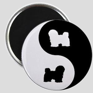 Yin Yang Havanese Magnet