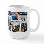 Historic Obama Inauguration Large Mug