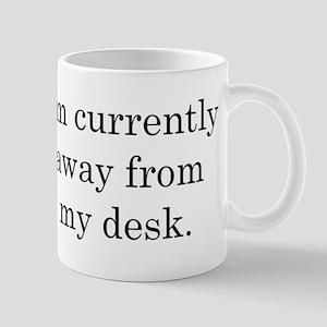 Away from Desk Lefty Mug