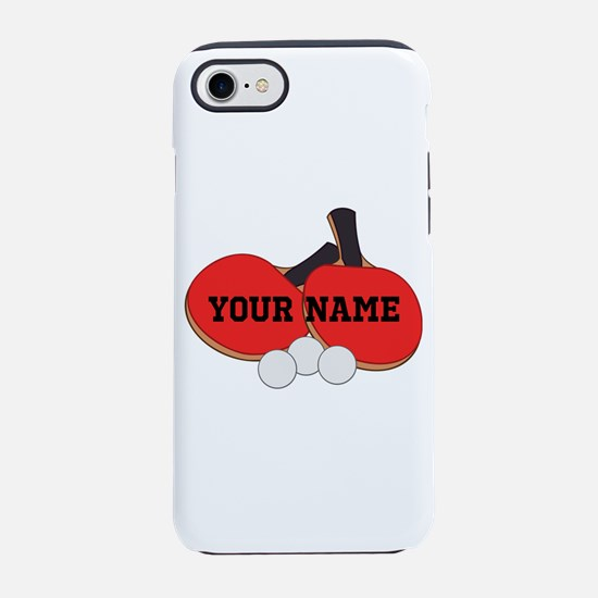 Personalized Table Tennis Ping Pong iPhone 7 Tough