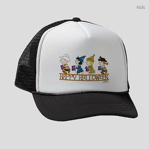 Peanuts - Happy Halloween Kids Trucker hat