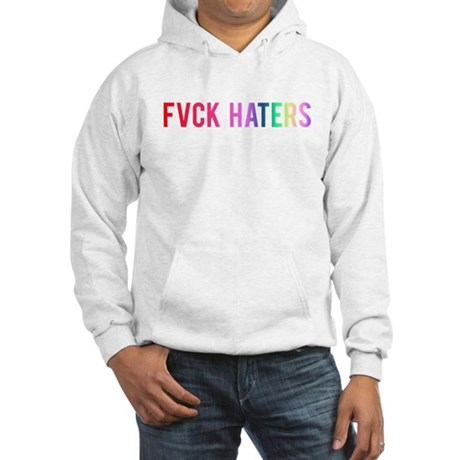FVCK HATERS Rainbow Sweatshirt