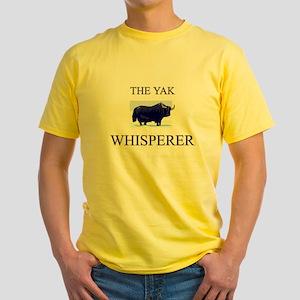 The Yak Whisperer Yellow T-Shirt