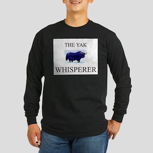 The Yak Whisperer Long Sleeve Dark T-Shirt