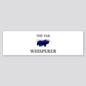 The Yak Whisperer Bumper Sticker